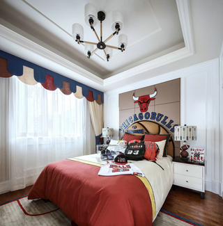 法式风格别墅男孩房装修效果图