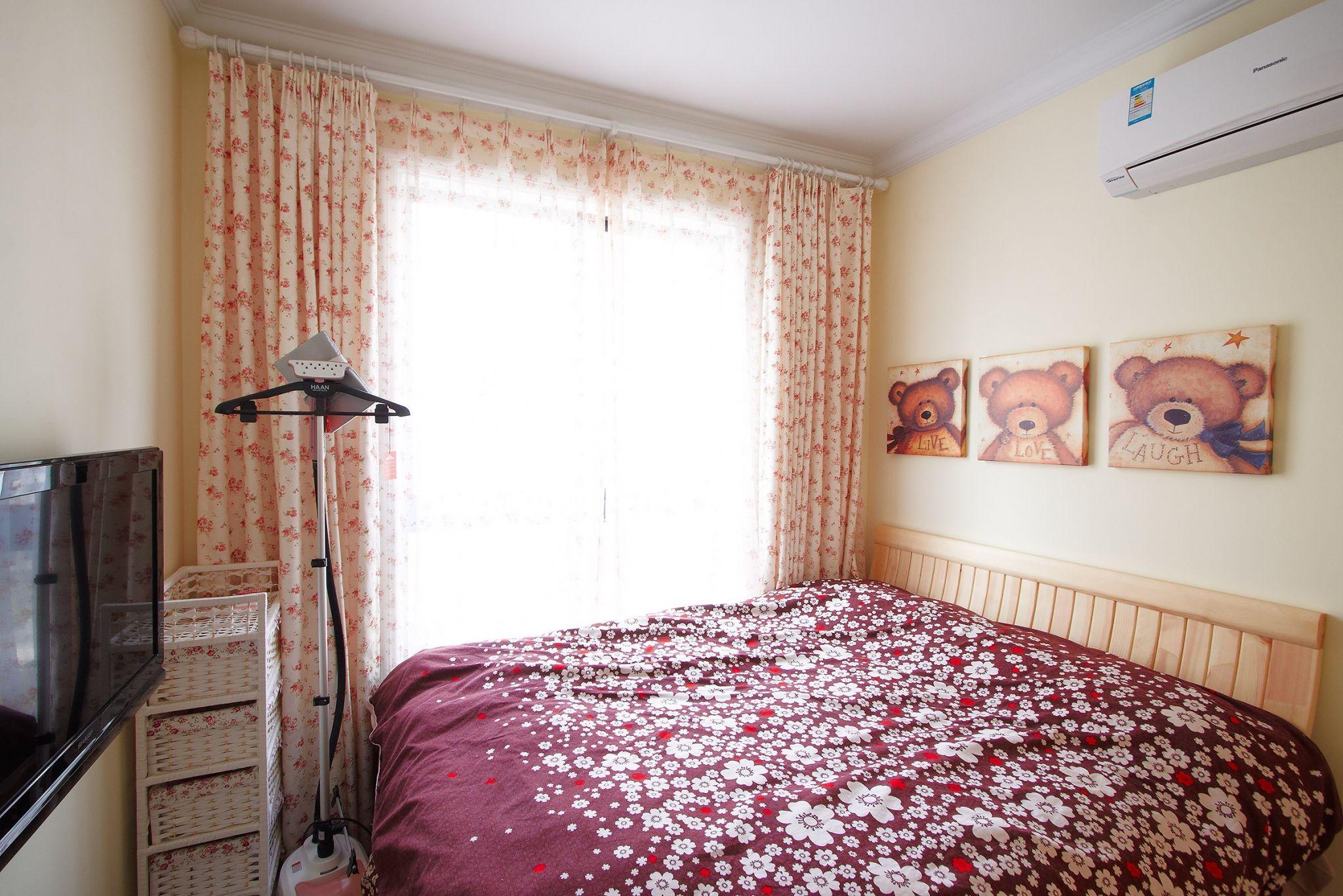 两居室田园风格卧室装修效果图
