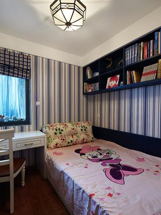 89㎡地中海风格儿童房装修效果图