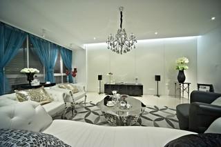 新古典风格三居客厅每日首存送20