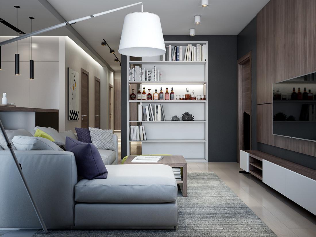 现代公寓装修设计效果图