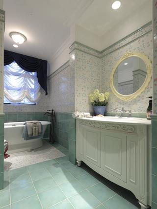 地中海风格别墅卫生间装修效果图