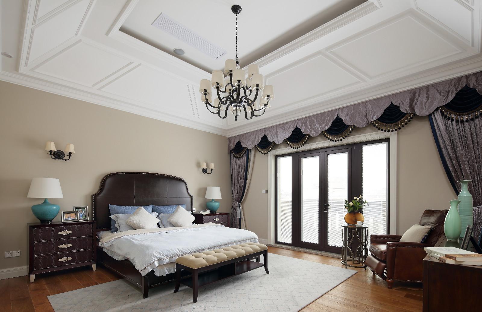 美式风格别墅卧室装修效果图