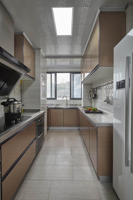 简美风格四居室厨房装修效果图