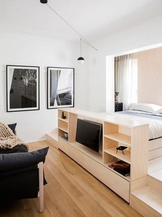 超小户型公寓装修效果图