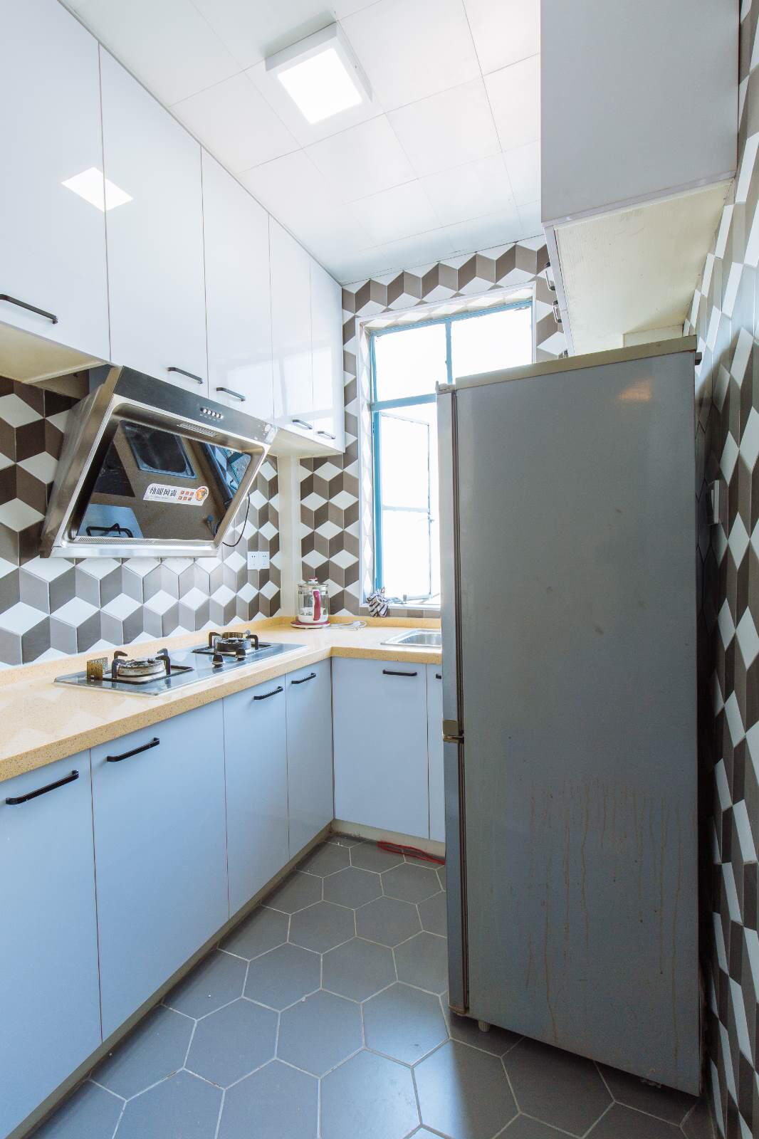 45㎡小户型厨房装修效果图