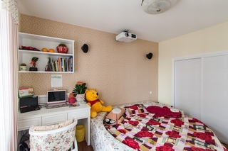 田园风格二居卧室装修效果图