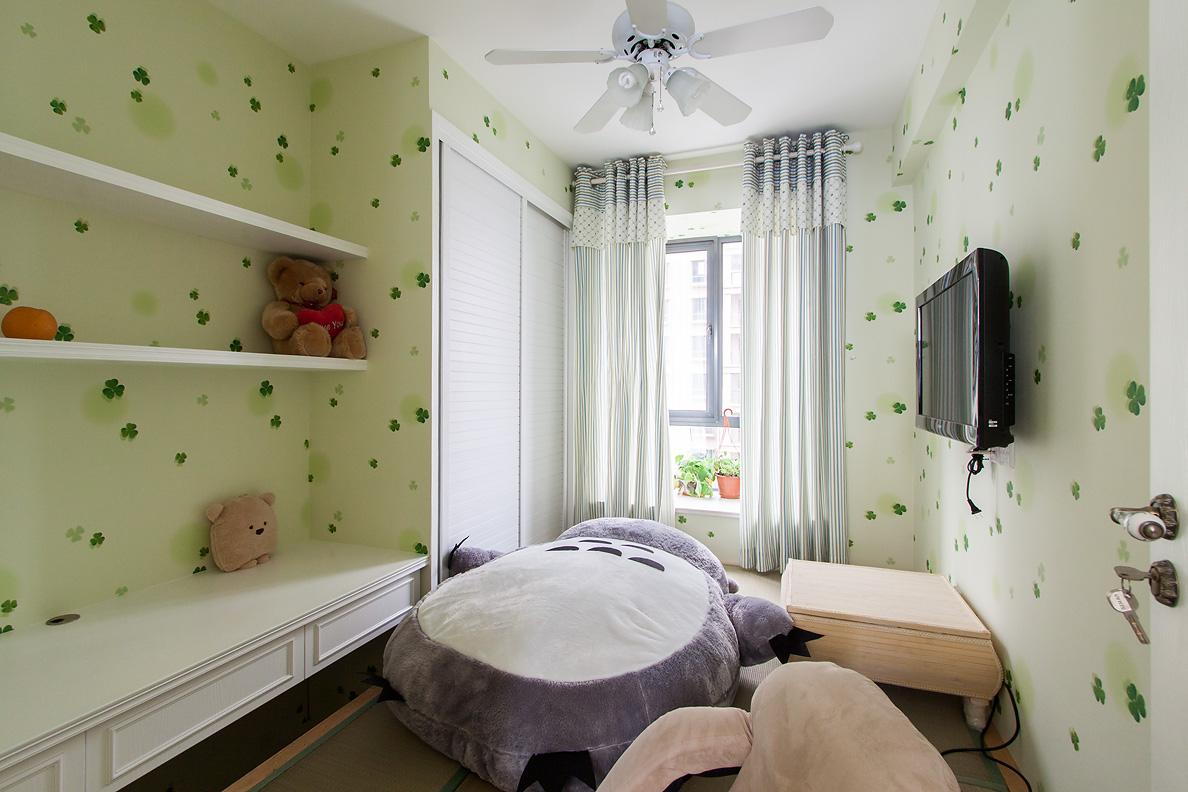 田园风格二居儿童房装修效果图