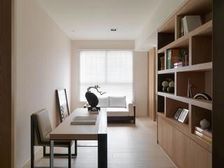 105平现代风格书房装修效果图
