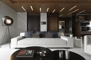 大户型现代风格装修沙发设计图