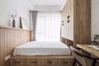 三居室北欧风格榻榻米装修效果图