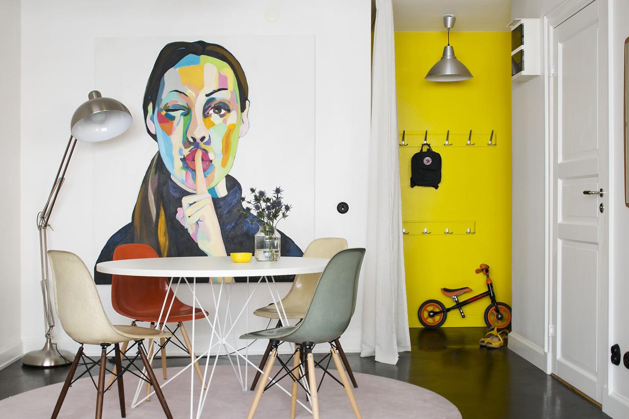 二居室小户型公寓餐厅装修效果图