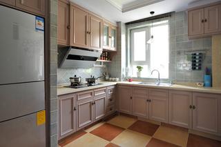 三居室混搭风格厨房每日首存送20