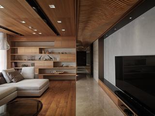 150平米现代风格客厅装修效果图