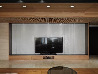 150平米现代风格电视背景墙装修效果图