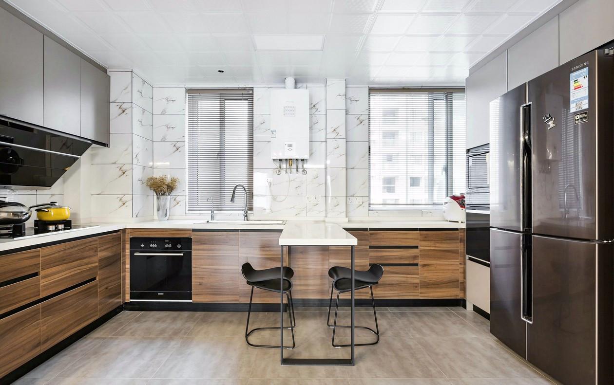 135㎡现代风格厨房装修效果图