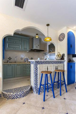 65㎡地中海风格厨房每日首存送20