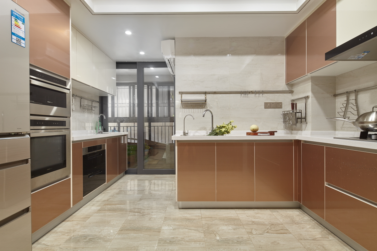 大户型中式风格厨房装修效果图