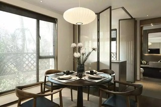 160平新中式风格餐厅装修效果图
