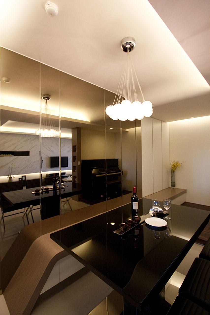 现代简约风两居餐厅装修效果图