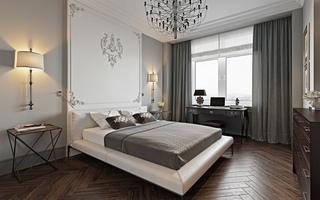法式新古典风格卧室装修效果图