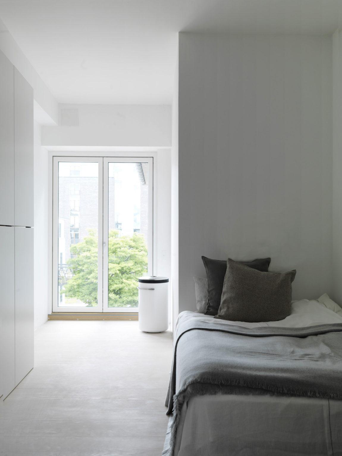 简约现代公寓卧室装修效果图