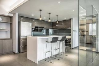 150㎡现代风格厨房装修效果图