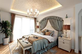 复式地中海风格卧室装修效果图