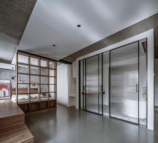 43平米一居室装修效果图