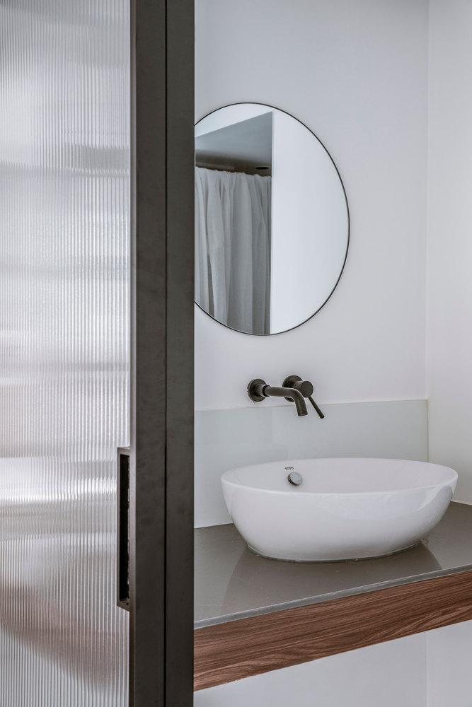 43平米一居室洗手台装修效果图