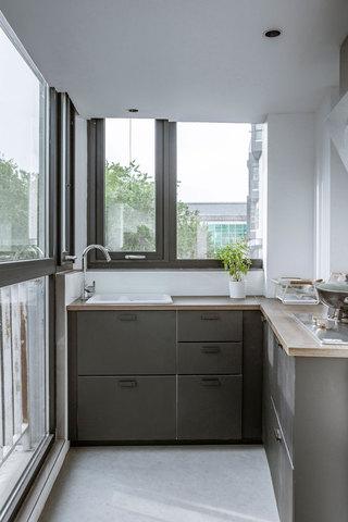 43平米一居室厨房装修效果图
