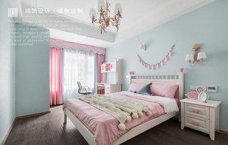 140㎡现代风格儿童房装修效果图
