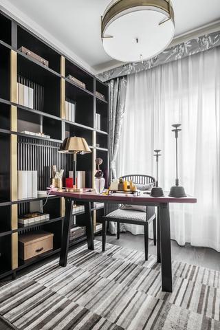 145㎡新中式风格书房装修效果图