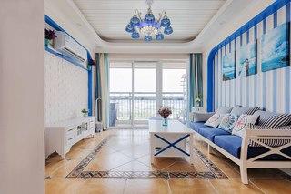 地中海风格三居装修效果图