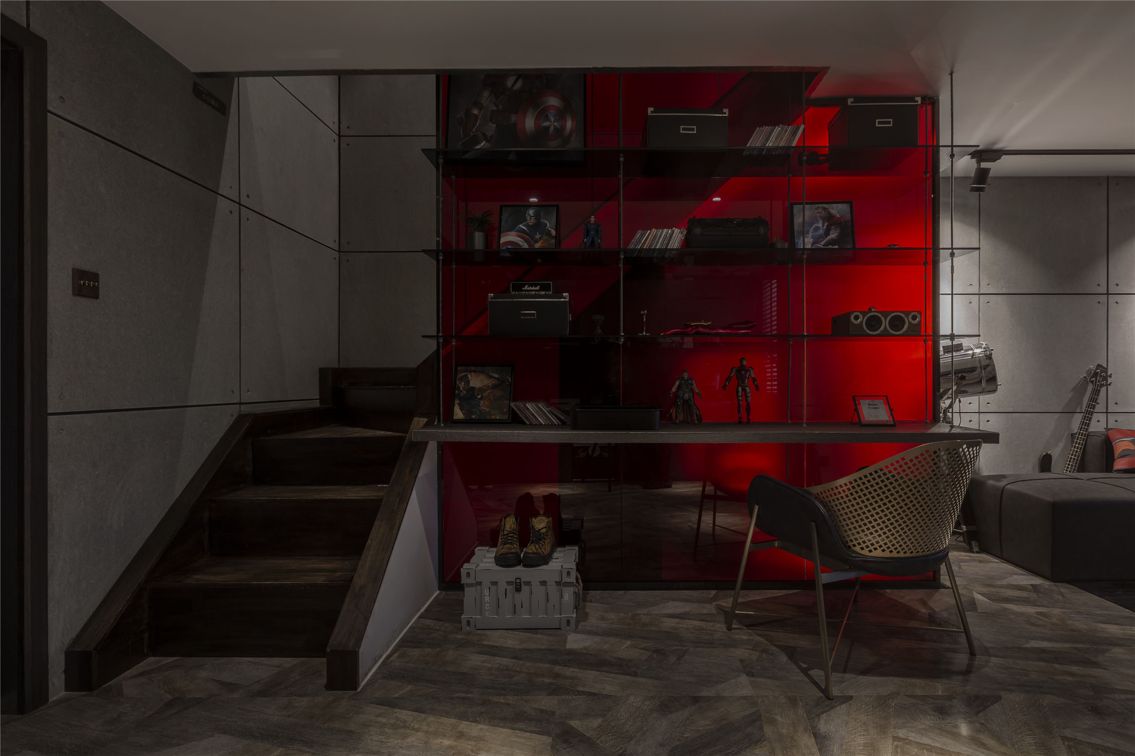 LOFT一居室装修效果图