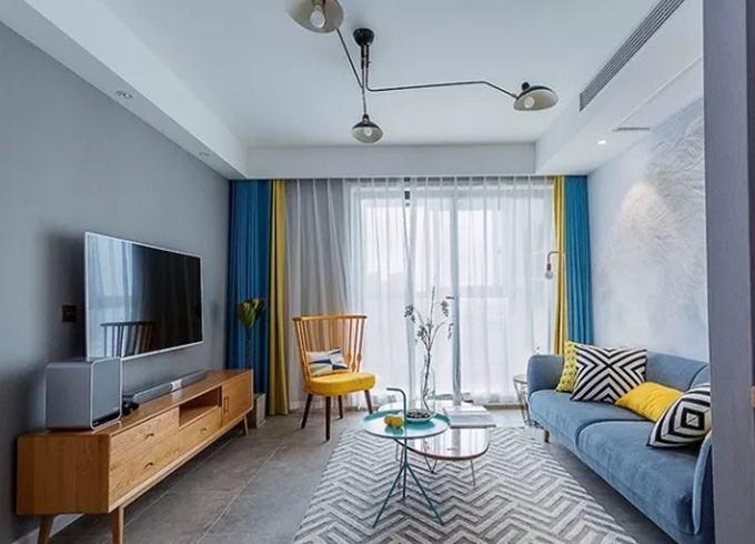 客厅窗帘适合用什么颜色 客厅窗帘如何选插图6