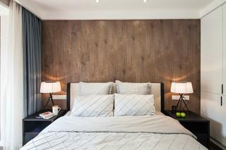 现代风格二居室装修效果图