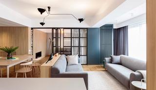 120㎡现代公寓装修效果图