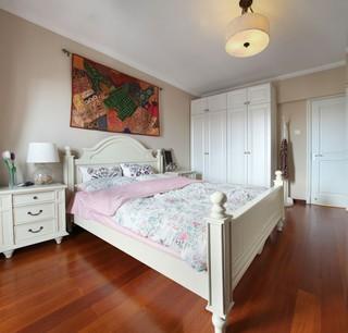 法式乡村三居卧室装修效果图