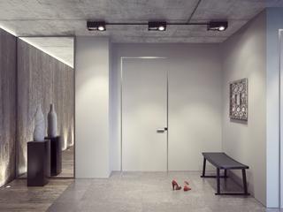 工业风格公寓玄关装修效果图
