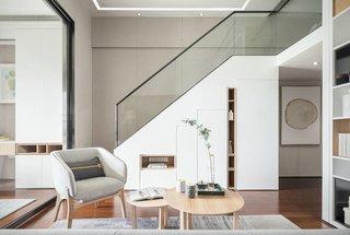 50㎡复式两居楼梯装修效果图