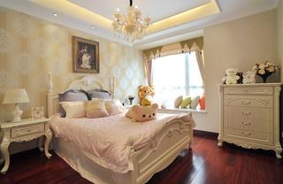 歐式風格三居室兒童房裝修效果圖