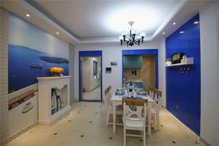 地中海风三居室餐厅每日首存送20