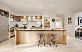 简约北欧风别墅厨房装修效果图