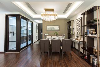 新中式风格三居餐厅装修效果图