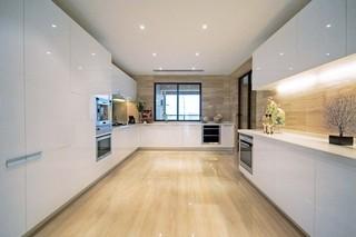 复式后现代风厨房装修效果图