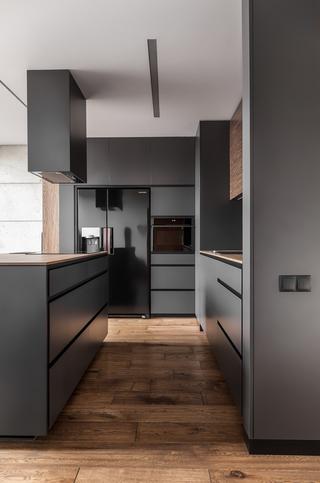 80平复式公寓厨房装修效果图