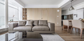 107㎡兩居室裝修效果圖