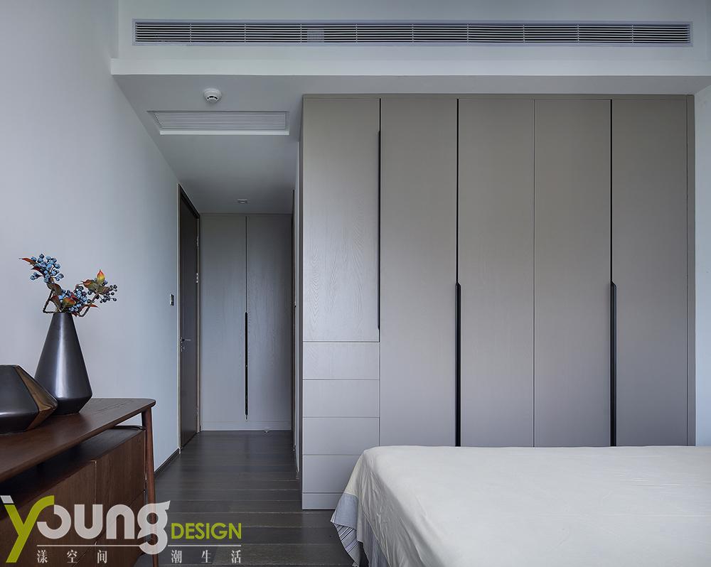 190㎡新中式风格装修衣柜设计图