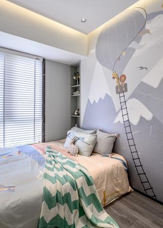 现代风三居儿童房装修效果图